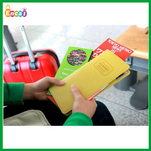 Encai Factory Newest Journey Organizer Passport Case/3M Passport Bag/Stocked Tickets&Cards Holder