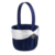 Handmade Navy Blue Color Beach Ocean Theme Wedding Ring Pillow Flower Basket Party Guest book Pen Holder set Wedding Gifts