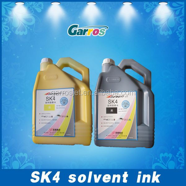 outdoor solvent ink High Color Fastness challenger dgi solvent sk4 ink