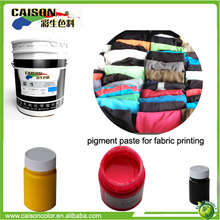 chemical Eco friendly color paste for fabric shoe tinting