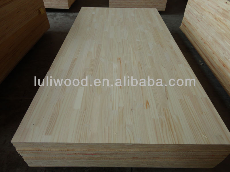 cheaper pine finger jointed boards /finger joint board Manufacturer luli factory