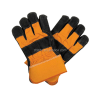 Brand MHR Genuine leather double palm soft goat skin working gloves