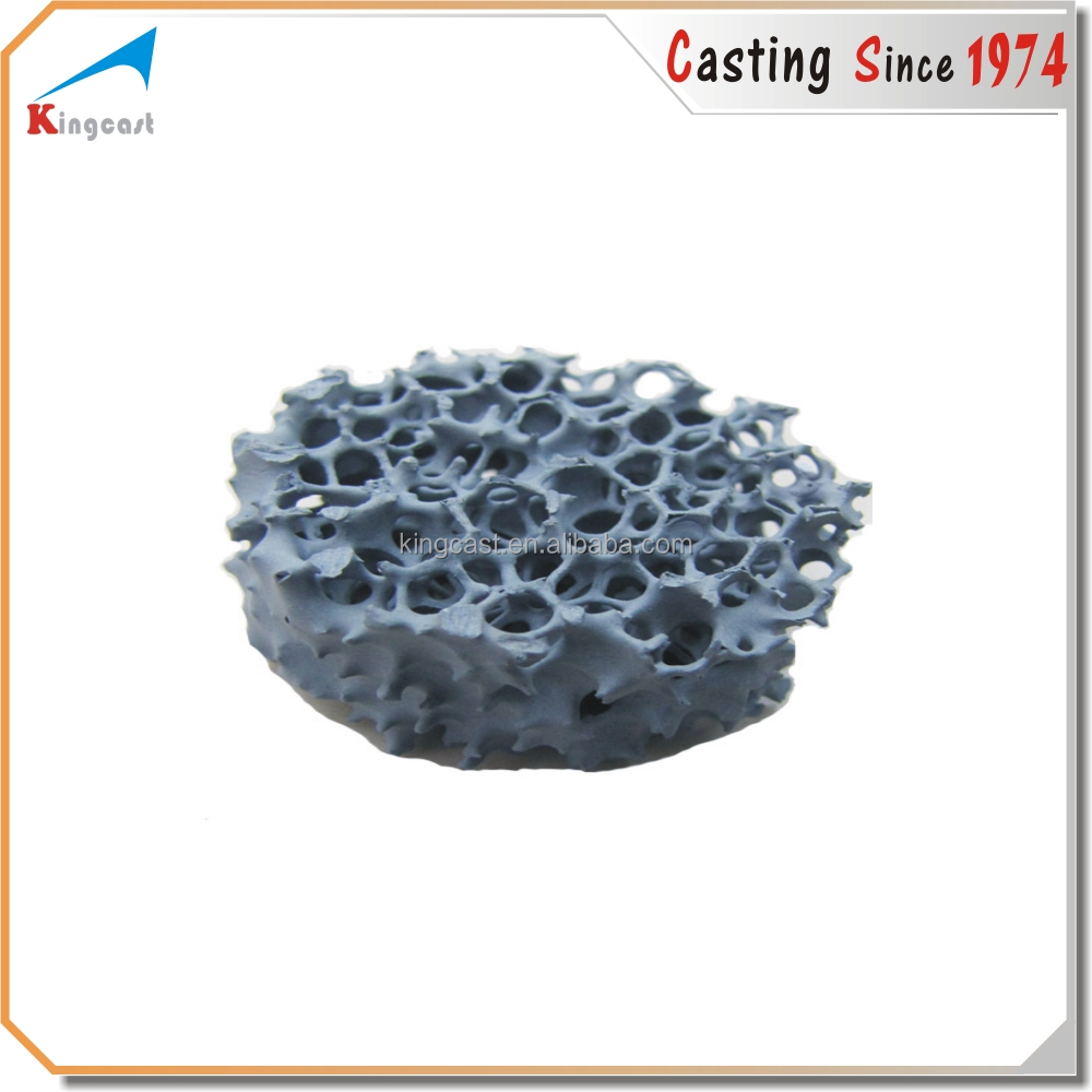 New technology foundry cast silicon carbide <strong>ceramic</strong> foam filter