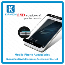 [kayoh]3D Curved Cell Phone Full Cover Tempered glass screen protector for Huawei P9 plus / Tempered