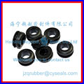 customizable small black epdm grommet_rubber grommet