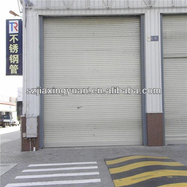 Electric Saftely Customized Steel Roll up Shutter