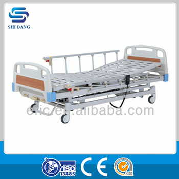 Hot selling!! SJ-YE103 3-function ICU used hospital beds with CE&ISO Certificate