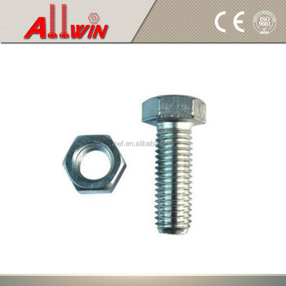 Spring washer and hex Bolts