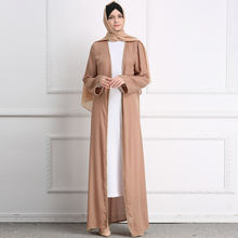 Wholesale soft crepe <strong>abaya</strong> women long dress comfortable casual clothes for <strong>muslim</strong> women <strong>abaya</strong> clothing