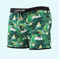 design your own swim trunks custom, sexy beach short men's swimming trunks with lining