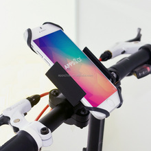 Apps2car aluminum stand for motorcycle, double protect motor phone holder, universal bike phone holder