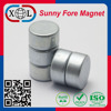 China Supplier Zinc Cylinder D18x8mm permanent neodymium magnet for sale