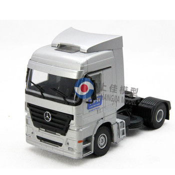 Benz tractor trailer toy,diecast metal toy truck,custom diecast toy truck model