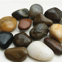 super polished pebble stone for garden decoration and landscaping