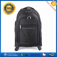 Fancy Wheeled Laptop Backpack 1680D Polyester Travel Trolley Laptop Bags
