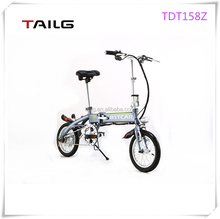 small slim electric bicycle hot sale 250w Tailg mini folding electric bike made in China