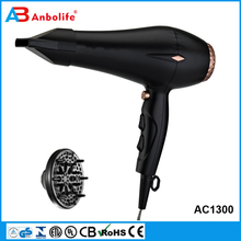 Anbolife 1800-2200W Multi Speeds&Heats CE GS Certificate AC/DC Motor Corded/Cordless Barber/Household Professional Hair Dryer