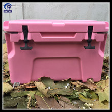 Plastic material Rotational mold Ice cooler box for Marine use