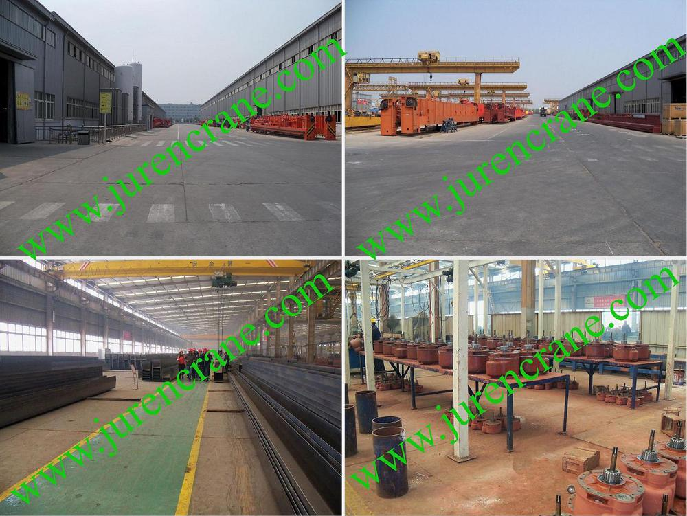 5ton~550ton heavy duty double beam bridge crane