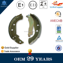Universal motorcycle brake shoes Auto rickshaw tricycle spare parts brake shoe with bolts