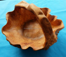 2014 Wood Craft Style Natural Tree Root Fruit Basket