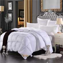 premium 5 star queen size donw feather quilt and comforters 95% goose down comforter