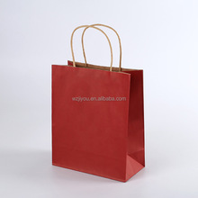 Alibaba China Brown Kraft Paper Shop Bag For Food