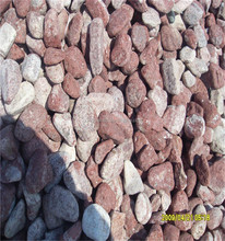 Latest Style High Quality Red Pebble Crushed Stone