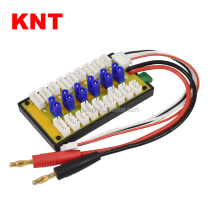 KNT 6Packs RC EC2 LiPo Battery Balance Charging Board 2-4S Parallel Connect Plate