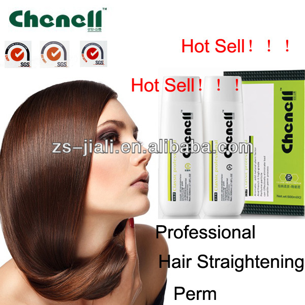 CHENELL hair straightener cream