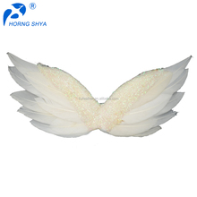 Factory Directly High Quality 5x2 Inch Small White Angel Fairy Butterfly Wings Adult Angel Wing