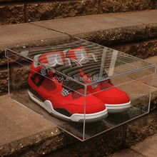 china suppliers acrylic shoe display case for adidas shoes