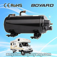 camper vans roof top mounting air conditioning system with lanhai rotary horizontal ac compressor