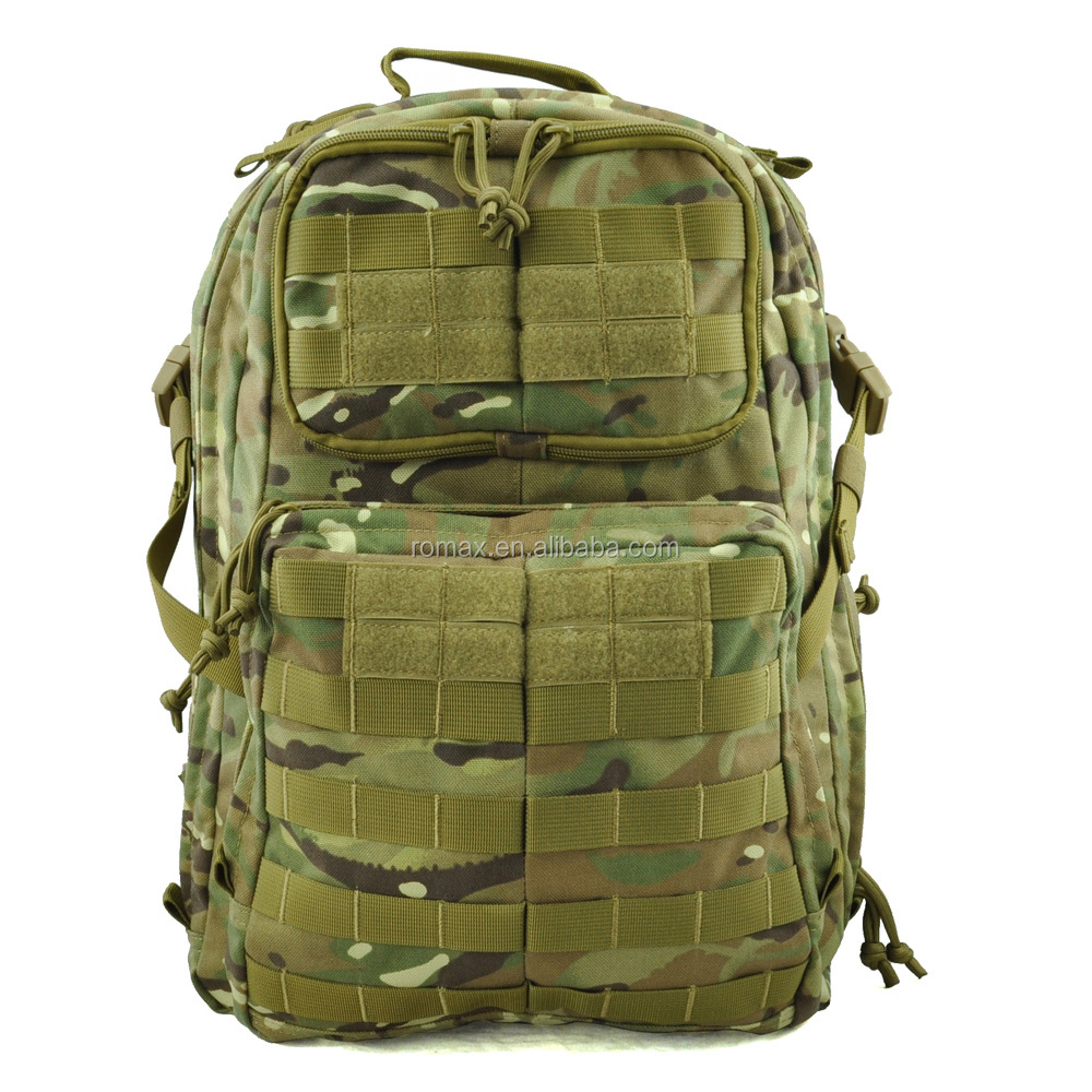 2016 new design Durable 3 Days waterproof tactical backpack MOLLE system large military men backpack for camping hiking trekking
