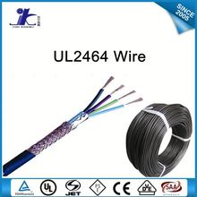 Computer Cable UL2464 Shielded Electrical hook up wire Braided 16awg 18awg 20awg 22awg 24awg 26awg 28awg 30awg