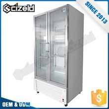 Top Quality Glass Cabinets Display Food Meat Refrigerator Showcase