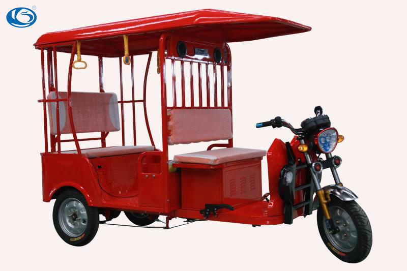 2017 new design electric passenger tricycle for passengers