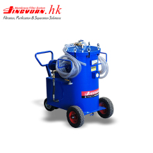 Lube oil dehydration purifier treatment machine plant