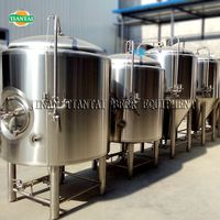 4 bbl hotel, pub or bars used beer serving tank for beer conditioning and maturation