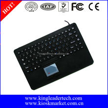 87keys washable silicone rubber industrial touchpad keyboard