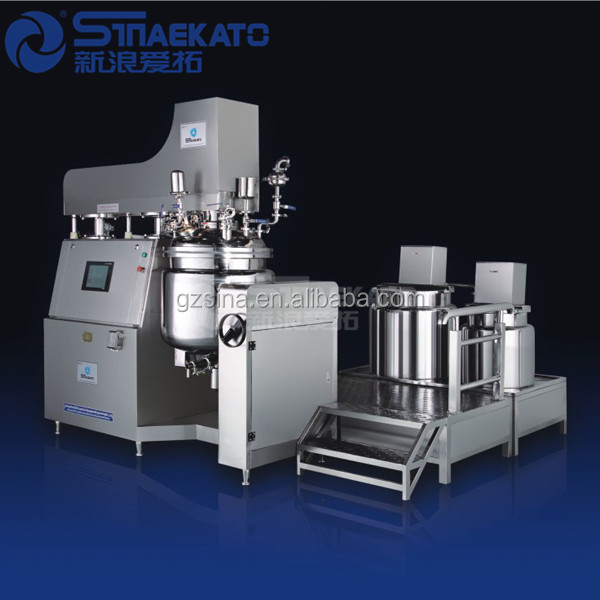 SIAN EKATO product:Dyeing Auxiliaries Making Machine, SME-D Vacuum Emulsifying Mixer