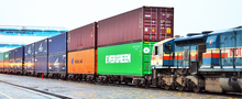 International railway service from China to Kazakhstan