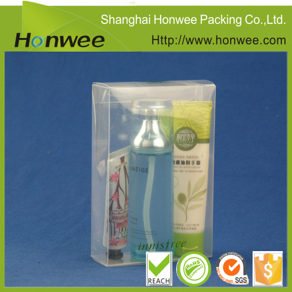 plastic transparent box gift box design small product packaging box