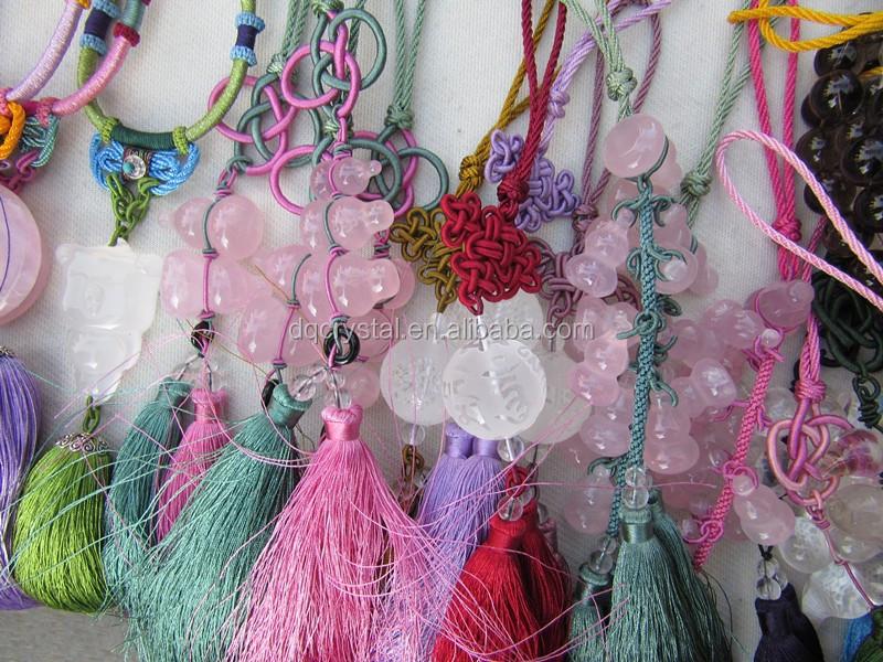 Factory Supply All Kinds of Crystal Car interior Hanging Accessories