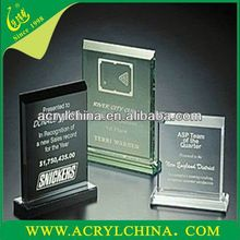 2015 Acrylic Trophy Acrylic Plaque, Trophy Tlastic Crafts,Colorful PMMA trophy