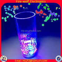 2014 hot selling Fashion party colorful Blinking glass,led blinking glass