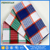 bulk 100% cotton yarn dye samll kitchen tea towel in china