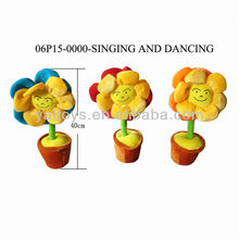 Singing and dancing Flowers