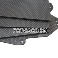 quasi isotopic internal structure carbon fiber laminated sheet plate