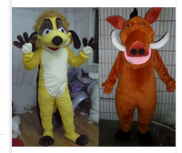 hight quality adult timon & pumba mascottes costumes for sale